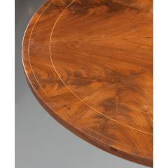 French 19th Century Mahogany Inlay Tea Table - 1917268