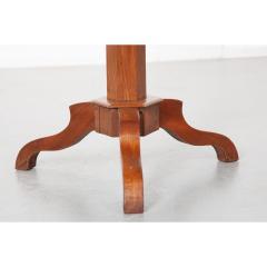 French 19th Century Mahogany Inlay Tea Table - 1917270