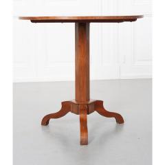 French 19th Century Mahogany Inlay Tea Table - 1917272