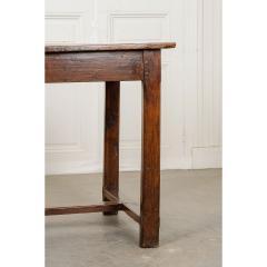 French 19th Century Oak Farmhouse Table - 1794799