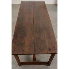 French 19th Century Oak Farmhouse Table - 1794803