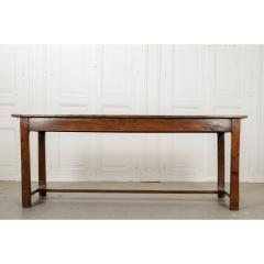 French 19th Century Oak Farmhouse Table - 1794813