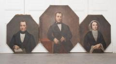 French 19th Century Oil Portrait Paintings - 1409781