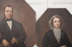 French 19th Century Oil Portrait Paintings - 1409788
