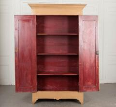 French 19th Century Painted Pine Cabinet - 1220849