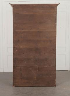 French 19th Century Painted Pine Cabinet - 1220853