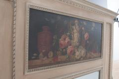 French 19th Century Painted Trumeau - 1837770