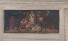French 19th Century Painted Trumeau - 1837779