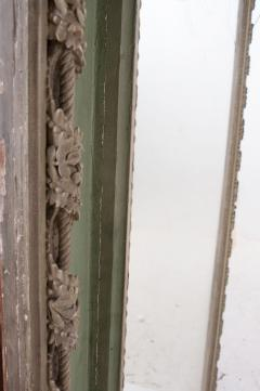 French 19th Century Painted Trumeau Mirror - 1837740