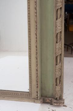 French 19th Century Painted Trumeau Mirror - 1837758