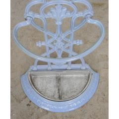French 19th Century Painted Wrought Iron Umbrella Stand - 1794802