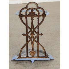 French 19th Century Painted Wrought Iron Umbrella Stand - 1794811