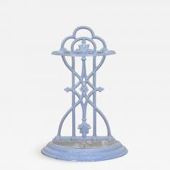 French 19th Century Painted Wrought Iron Umbrella Stand - 1815934