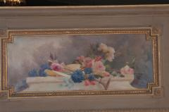 French 19th Century Painted and Gilded Trumeau - 1837776