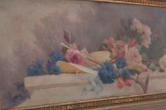 French 19th Century Painted and Gilded Trumeau - 1837780