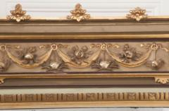 French 19th Century Painted and Parcel Gilt Pier Mirror - 1395061