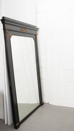 French 19th Century Second Empire Ebonized Mirror - 1812297