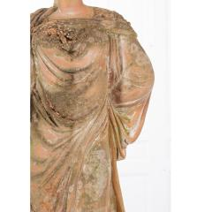 French 19th Century Terracotta Statue on Pedestal - 1924402