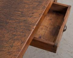 French 19th Century Walnut Workbench Coffee Table - 1409731