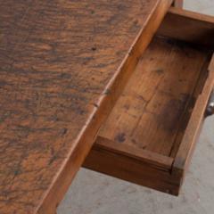 French 19th Century Walnut Workbench Coffee Table - 1409733