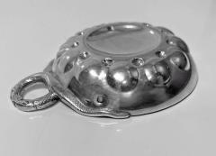 French 1st Std 950 Silver Wine Taster Tastevin - 1899535