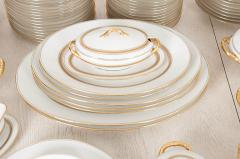 French 20th Century 93 Piece Limoges Luncheon Service - 1812106