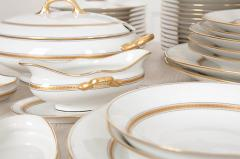 French 20th Century 93 Piece Limoges Luncheon Service - 1812109