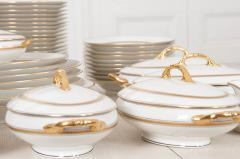 French 20th Century 93 Piece Limoges Luncheon Service - 1812119