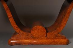 French Art Deco Amboyna Wood Table - 735188