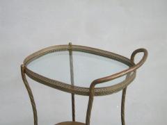 French Art Deco Brass Bar Cart - 1511542