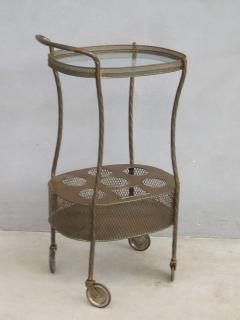 French Art Deco Brass Bar Cart - 1511543