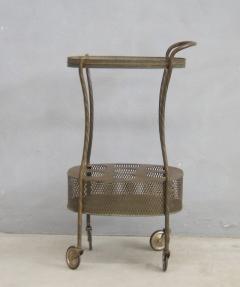 French Art Deco Brass Bar Cart - 1511544