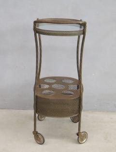 French Art Deco Brass Bar Cart - 1511545