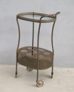French Art Deco Brass Bar Cart - 1511547