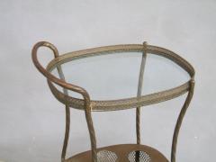 French Art Deco Brass Bar Cart - 1511567