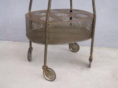 French Art Deco Brass Bar Cart - 1511571