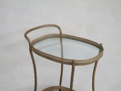 French Art Deco Brass Bar Cart - 1511572