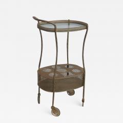 French Art Deco Brass Bar Cart - 1512298