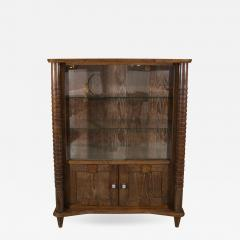 French Art Deco Cerused Wood Cabinet - 596375