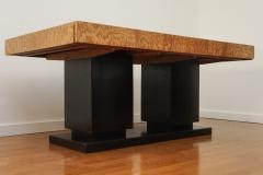 French Art Deco Cubist Extension Dining Table - 2056060