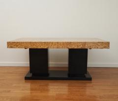 French Art Deco Cubist Extension Dining Table - 2056062