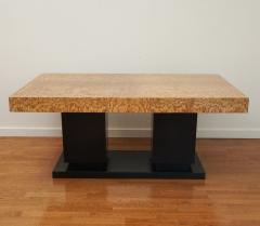French Art Deco Cubist Extension Dining Table - 2056065