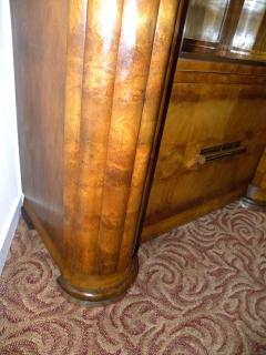 French Art Deco Display Cabinet Vitrine Moderne - 118054