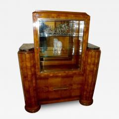 French Art Deco Display Cabinet Vitrine Moderne - 118450
