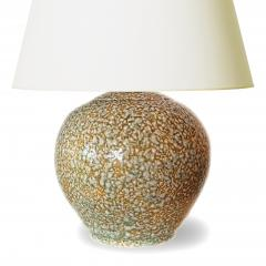 French Art Deco Lamp with Mottled Glazing - 1807533