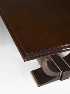 French Art Deco Rosewood Dining Table - 428851