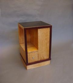 French Art Deco Sided Table or Nightstand - 621206
