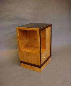 French Art Deco Sided Table or Nightstand - 621207