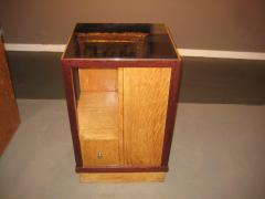 French Art Deco Sided Table or Nightstand - 621210