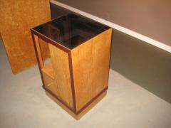 French Art Deco Sided Table or Nightstand - 621211